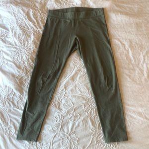 AE green leggings